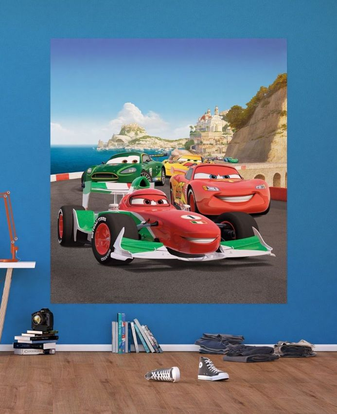 Disney  Cars 2 Race Premium wall murals | Buy it now